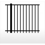 Aluminum Ornamental Fence Powder Coated